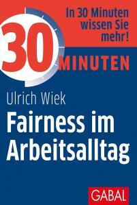 Buch 30 Minuten Fairness im Arbeitsalltag